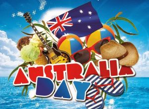 happy australia day  palm cove tropic