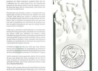 Editorial do presidente Paulo Nobre para a Revista do Palmeiras.