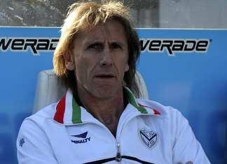 Ricardo Gareca na época em que comandava o Vélez Sarsfield.