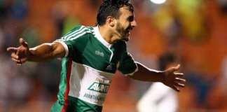Henrique comemora terceiro gol. Foto: Ari Ferreira