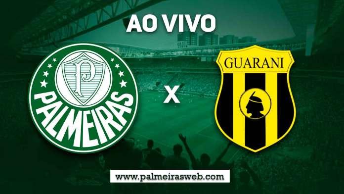 Palmeiras x Guaraní-PAR Ao Vivo