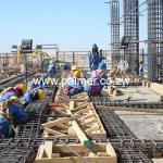 reinforment steel fixing palmer civil contractors Zimbabwe