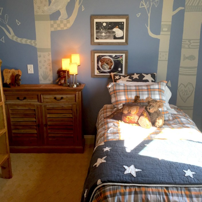 Bear themed bedroom