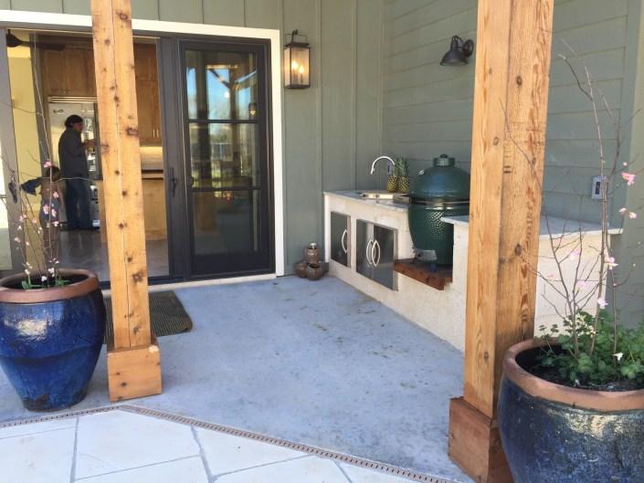 PDD design home outside kitchen