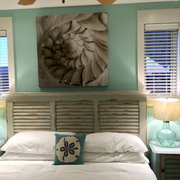 Seafoam green nautical bedroom set