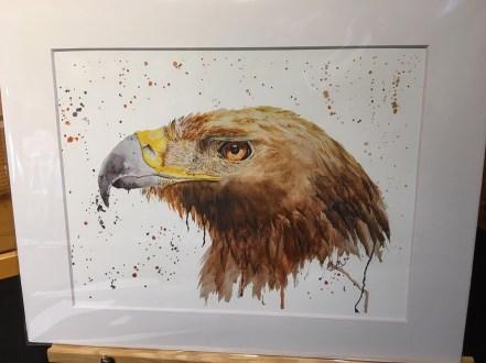 Danielle Mettling Artist of the Week golden eagle print