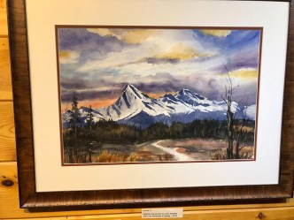 Ken Harris Artist of the Week The Lazy Mountain in Spring