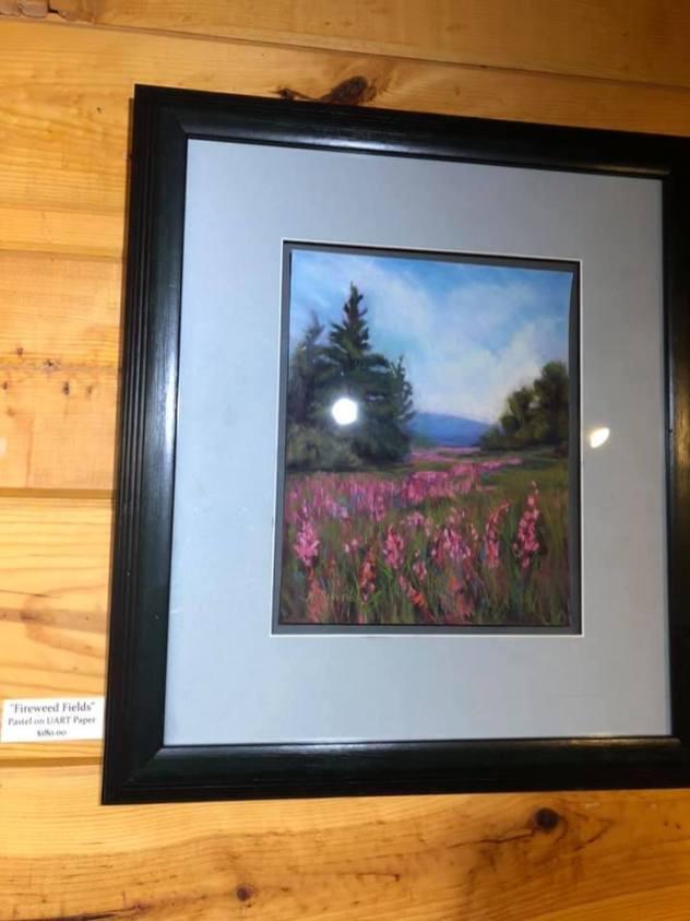 Maria McKiernan Artist of the Week at PMHA Fireweed Fields