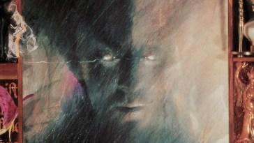 morpheus from the cover of neil gaiman's sandman #1 by dave mckean