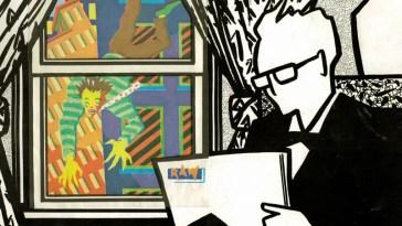 art spiegelman's iconic cover of raw magazine #1