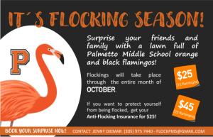 Flocking Season Fundraiser