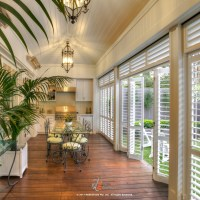 Create a beautiful outdoor living space by enclosing your porch or lanai with powder coated shutters. Close for privacy, to block wind, rain, and heat. Open completely for easy access to pool, lake, yard, or views. Palmetto Outdoor Spaces can help you design your dream outdoor retreat.