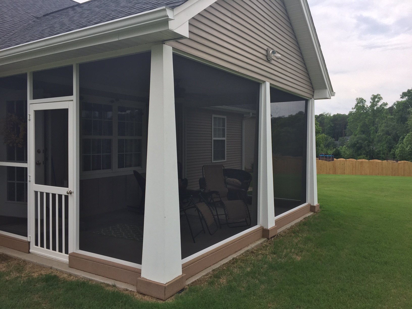 window screen screens systems porch pet guys raleigh