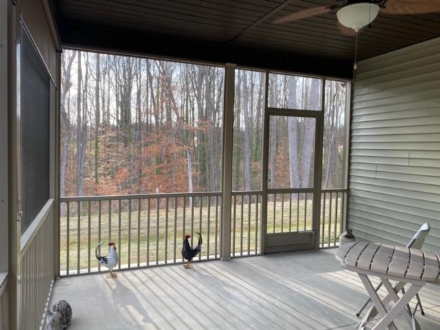 Porch Screened in Greer SC PCA Screen Door Lookingout