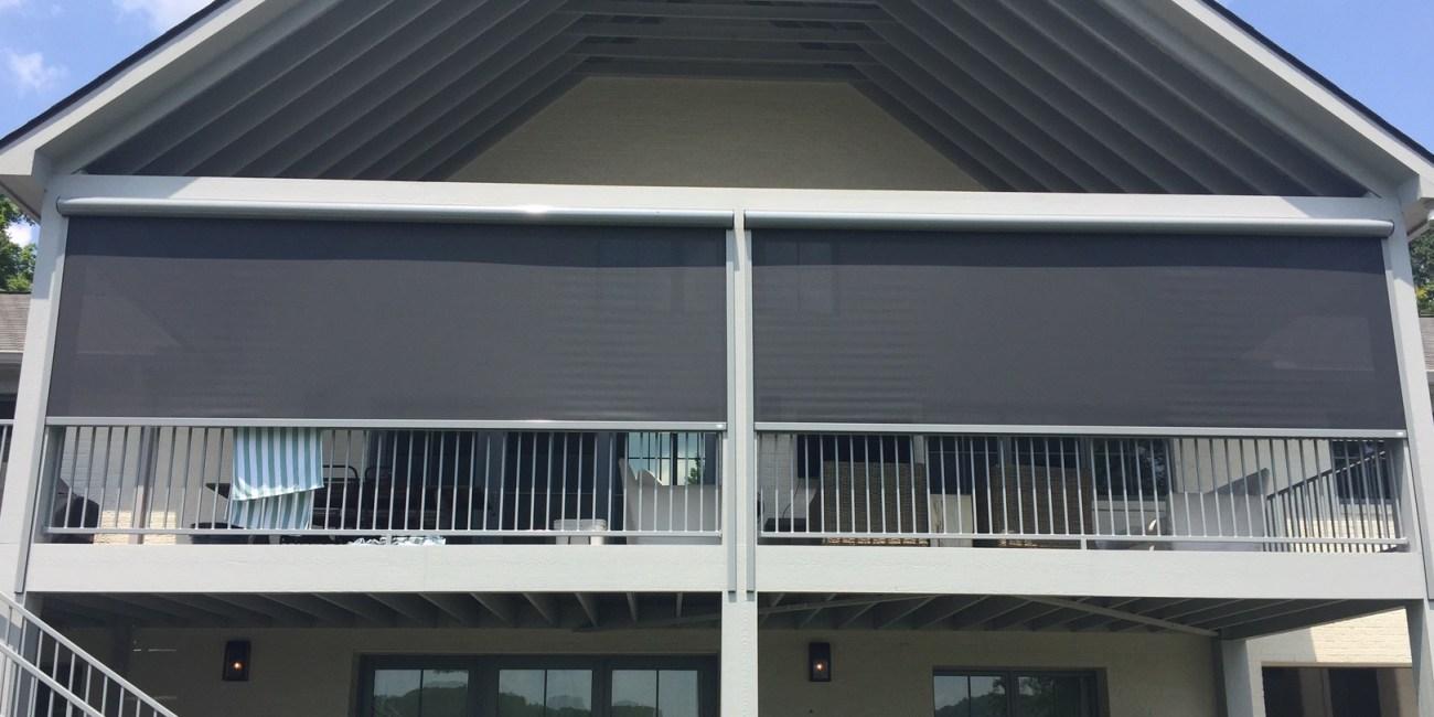 Lake Bowen Retractable Solar Shades Universal Screens