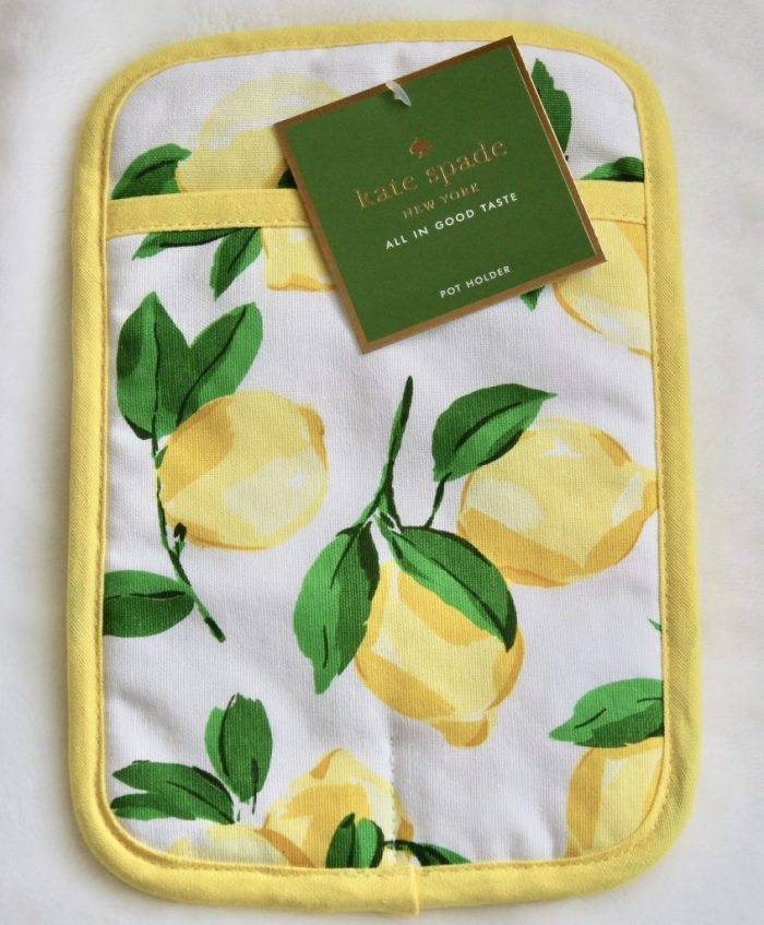 Kate Spade Lemon Potholder