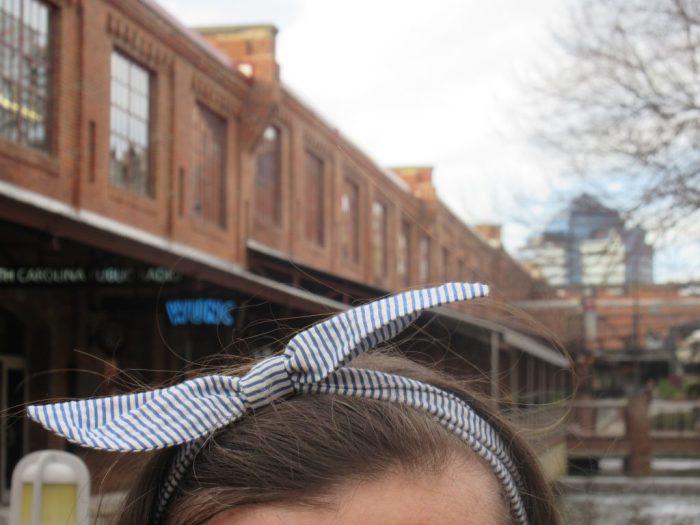 Lauren James Seersucker Headband