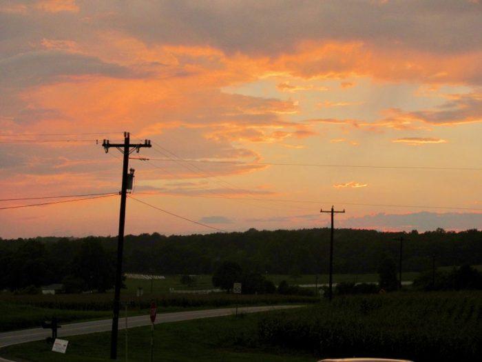 Maple View Farm Sunset