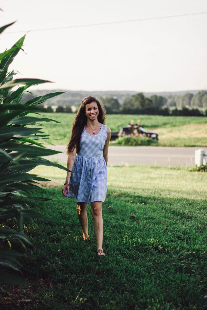 Lauren James Gingham Dress