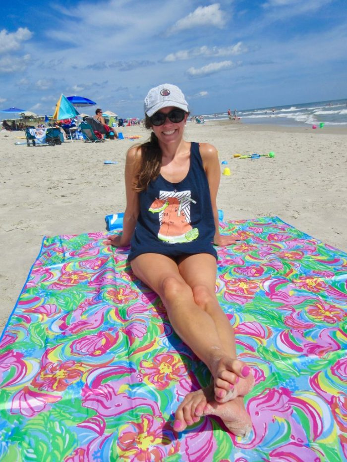Lilly Pulitzer So A Peeling Beach Blanket