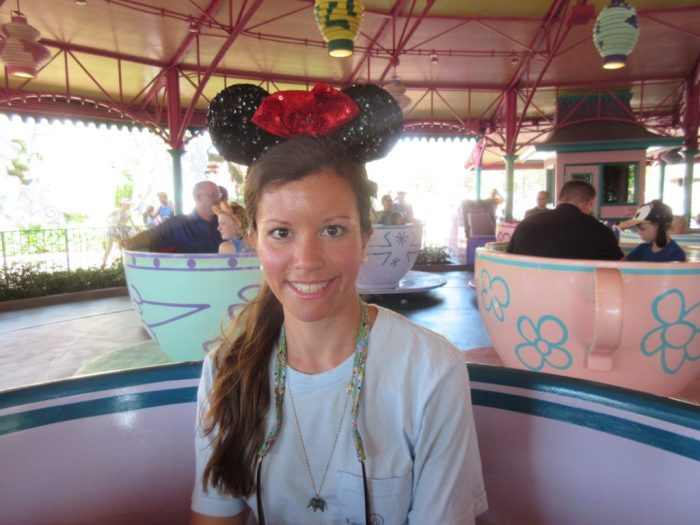 Disney World Spinning Teacups