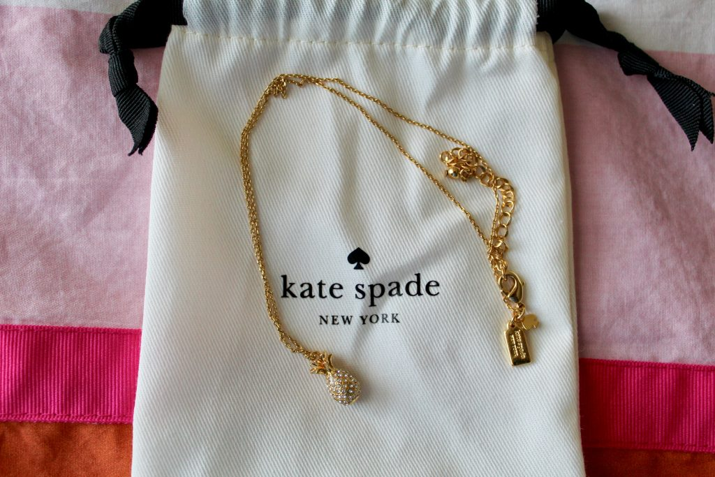 Kate Spade Pineapple Pendant Necklace
