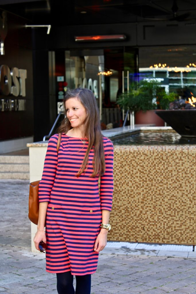 How to Style a Classic Striped Dress