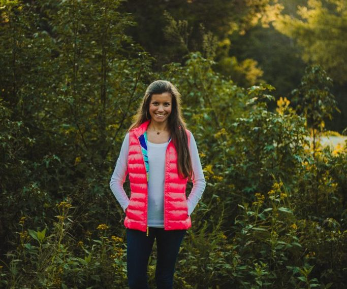 Lilly Pulitzer Pink Puffer Vest
