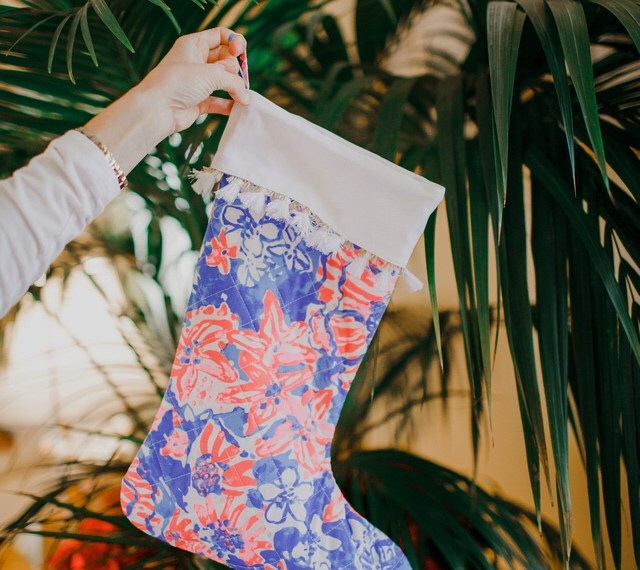 Lilly Pulitzer Stocking