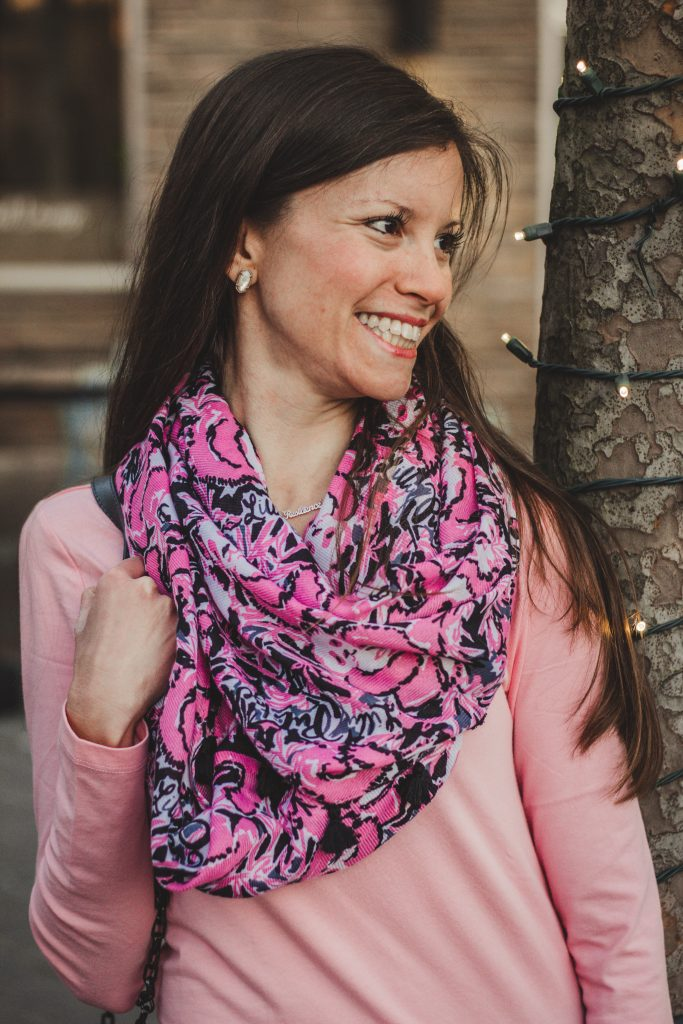 Lilly Pulitzer Hangin' with My Boo Scarf