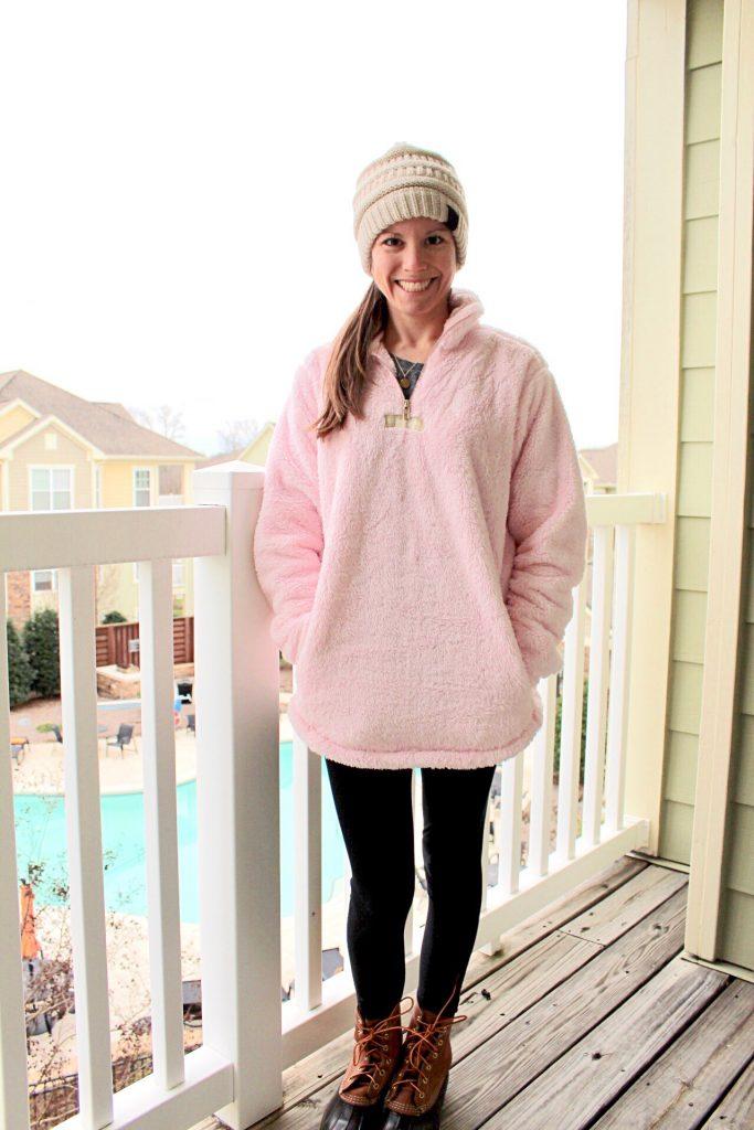 Lauren James Linden Sherpa Pullover on Sale