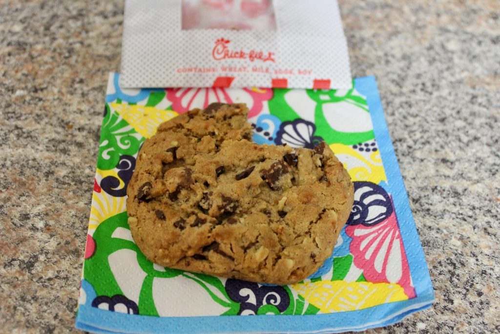 Free Chick-fil-a birthday cookie