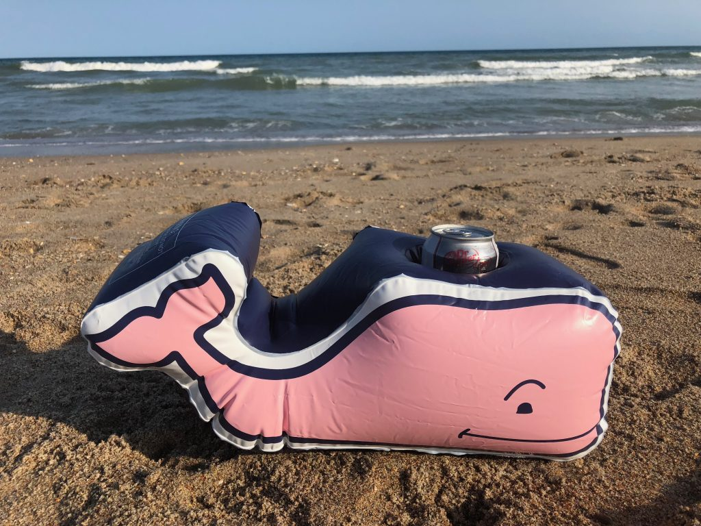 Vineyard Vines for Target Inflatable Whale Drink Holder