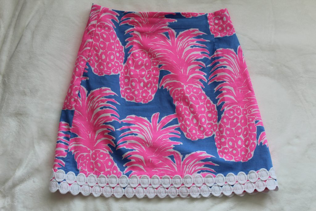 Lilly Pulitzer Izzy Skirt Little Flamenco