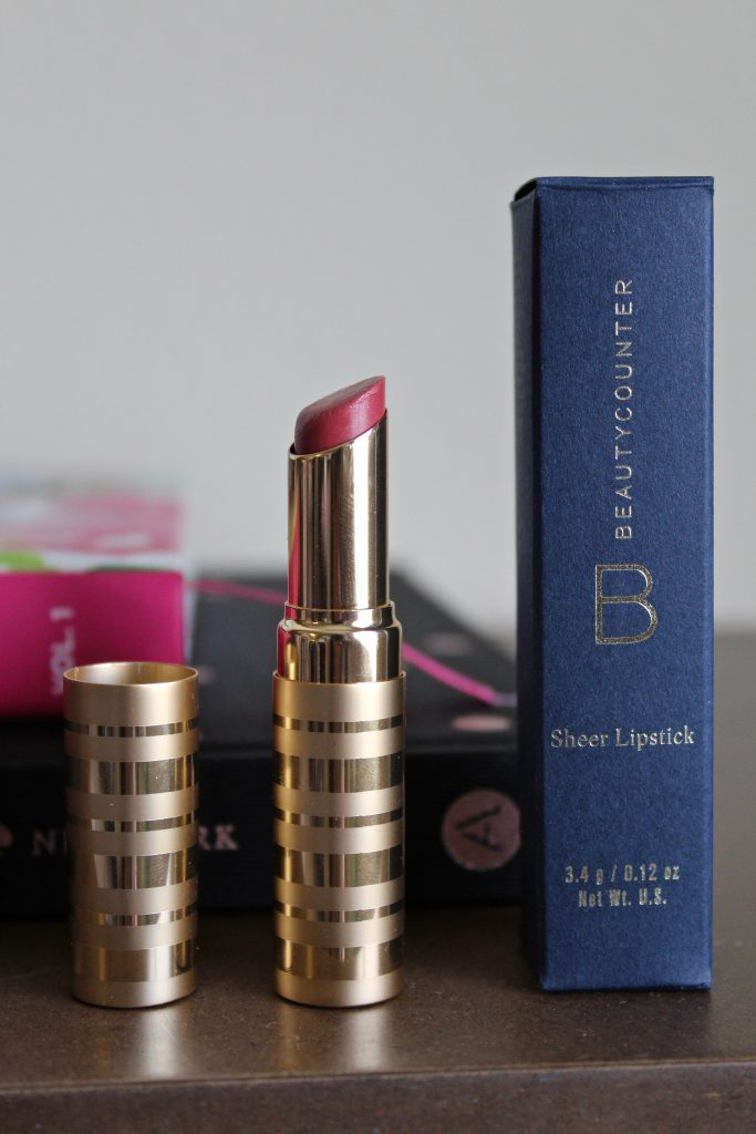 Beautycounter Sheer Lipstick Rose Shimmer