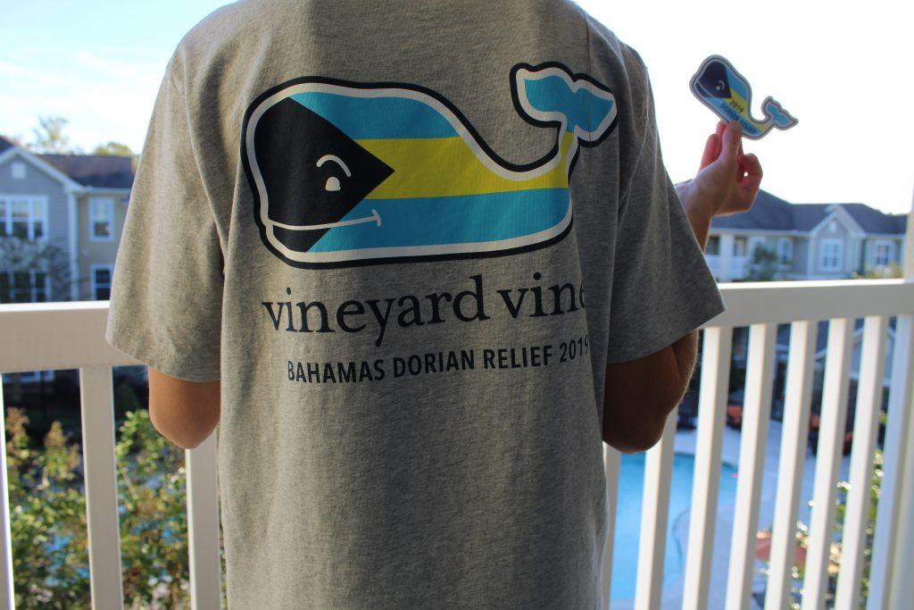 Vineyard Vines Hurricane Dorian Relief