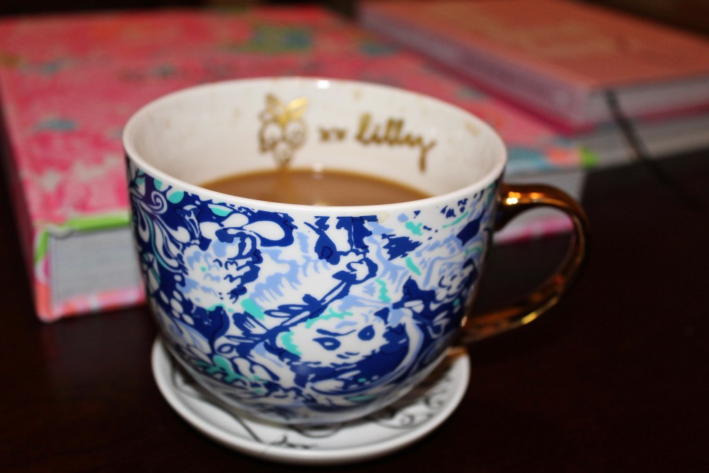 Lilly Pulitzer ceramic mug