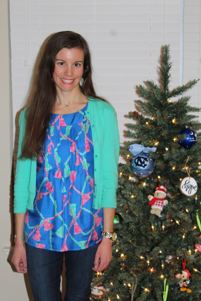 Lilly Pulitzer Sleeveless Silk Blouse