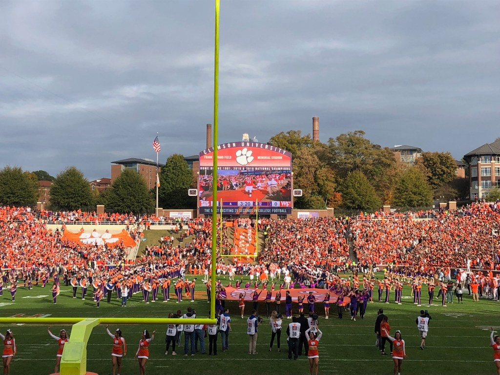 Clemson's Death Valley