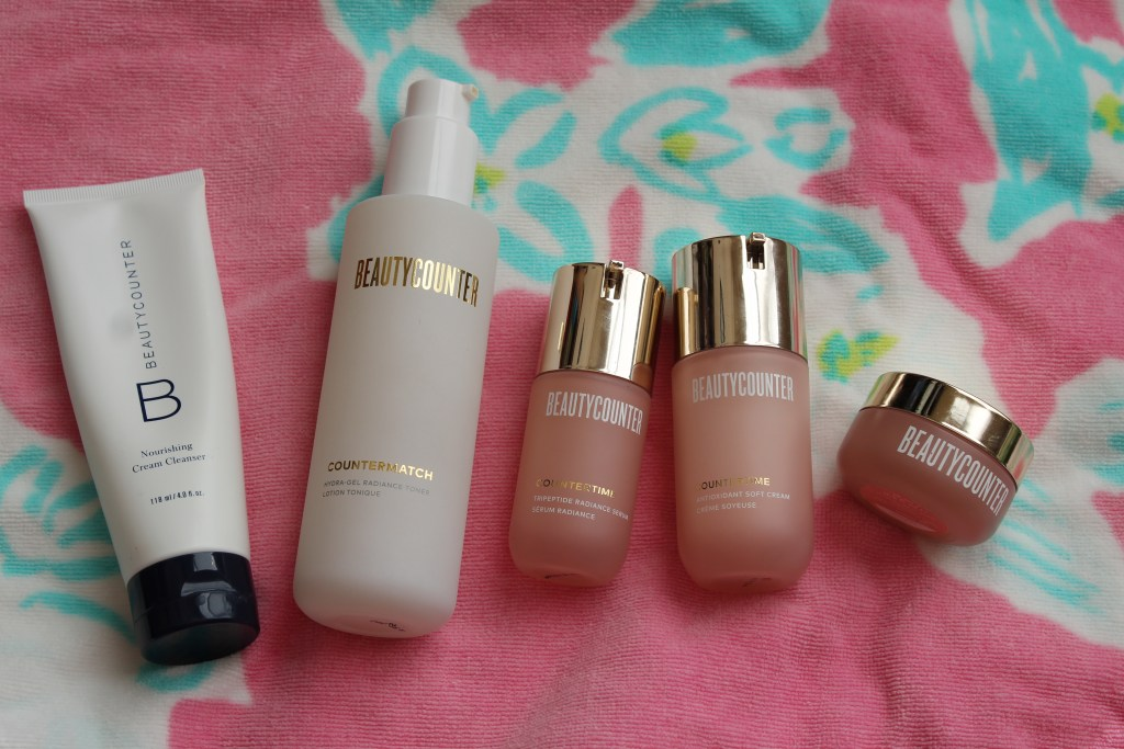 Beautycounter Clean Skincare Routine