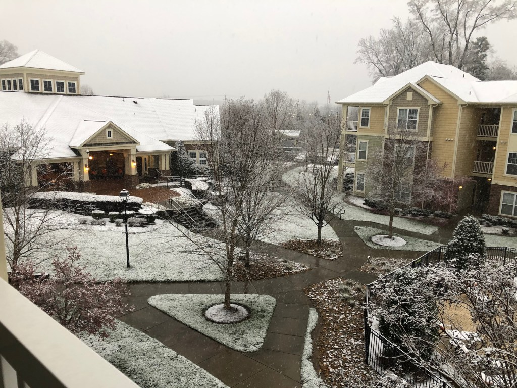 Durham NC Snow