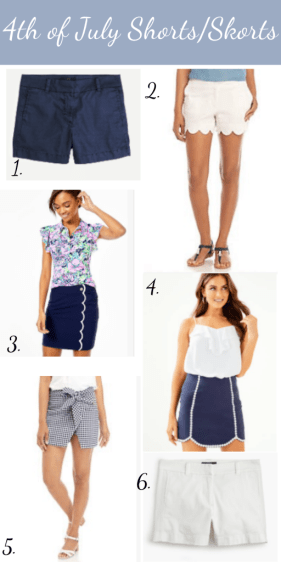 Preppy 4th of July Outfit Ideas