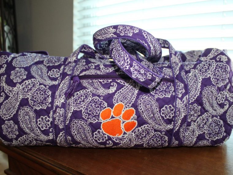 Vera Bradley Duffel Bag Collegiate Collection