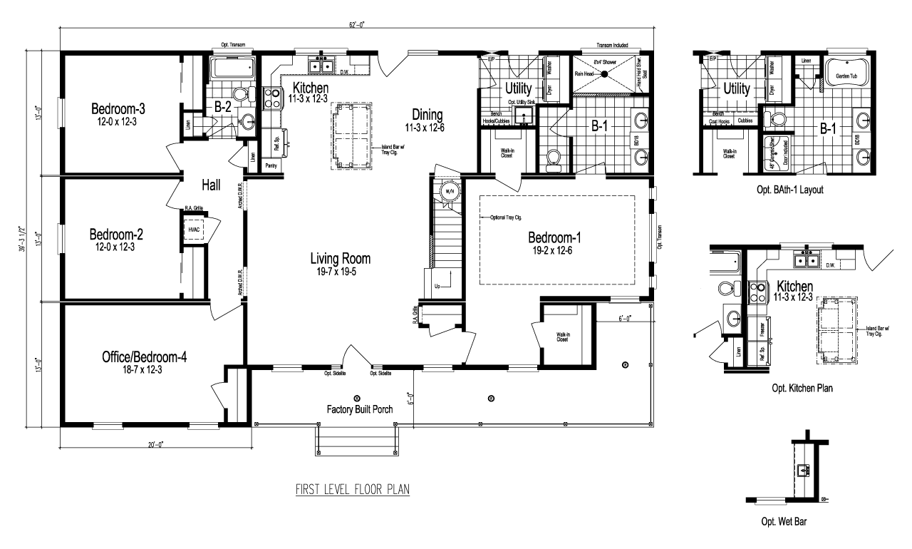The Greenbrier III Manufactured Home Floor Plan Or Modular
