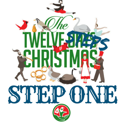 The 12 Steps of Christmas in Recovery: Step 1