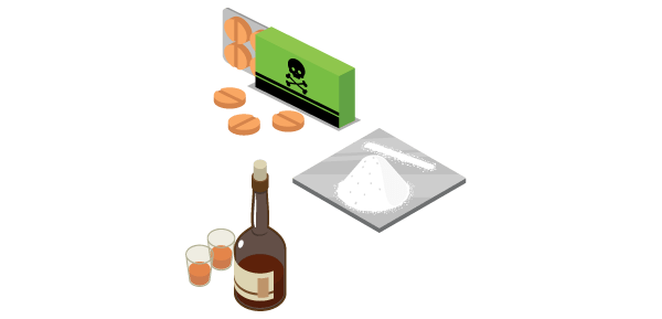 mixing substances with suboxone diagram