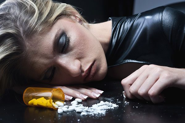 woman overdosed on opioids