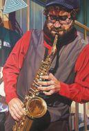 Steet musicians. Músicos callejeros.
