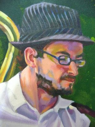 Detalle II pintura jingle django