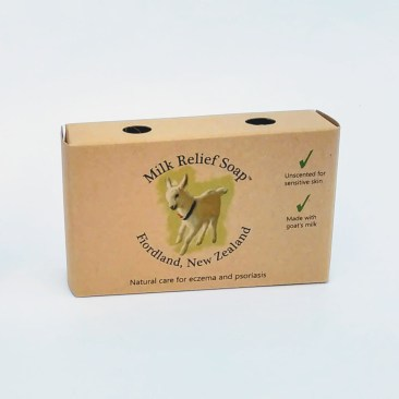 Palm Oil Free Soap Product Details includes purposefully plain packaging.